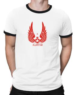 Alaster - Wings Ringer T-Shirt