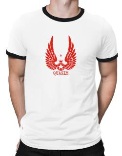 Quasim - Wings Ringer T-Shirt