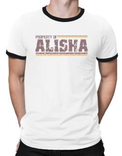Property Of Alisha - Vintage Ringer T-Shirt