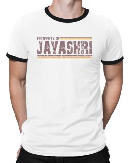 Property Of Jayashri - Vintage Ringer T-Shirt