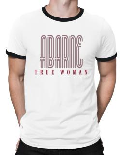 Abarne True Woman Ringer T-Shirt