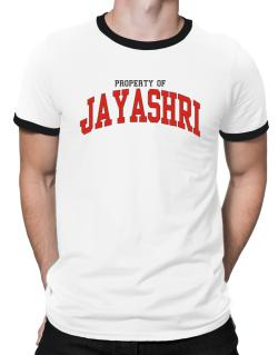 Property Of Jayashri Ringer T-Shirt