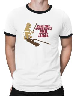 Agricultural Microbiologist Ninja League Ringer T-Shirt