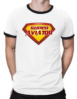 Super Aviator Ringer T-Shirt