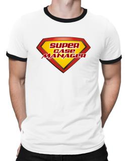 Super Case Manager Ringer T-Shirt