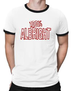 100% Albright Ringer T-Shirt