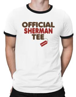 Official Sherman Tee - Original Ringer T-Shirt