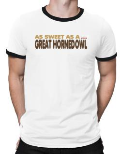 As Sweet As A Great Horned Owl Ringer T-Shirt