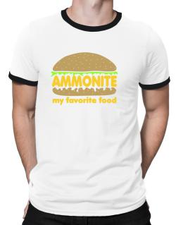 Ammonite My Favorite Food Ringer T-Shirt