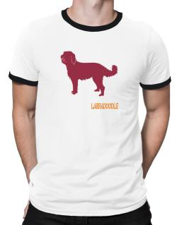 Labradoodle Stencil / Chees Ringer T-Shirt