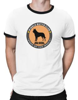 Belgian Malinois - Wiggle Butts Club Ringer T-Shirt