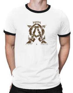 Weightlifting Alpha And Omega Ringer T-Shirt