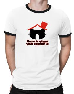 Home Is Where Ragdoll Is Ringer T-Shirt