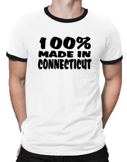 100% Made In Connecticut Ringer T-Shirt