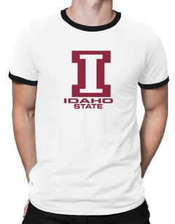 """ STATE ABC Idaho "" Ringer T-Shirt"