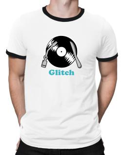 Glitch - Lp Ringer T-Shirt