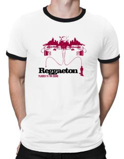 """  Reggaeton plugged into the sound "" Ringer T-Shirt"