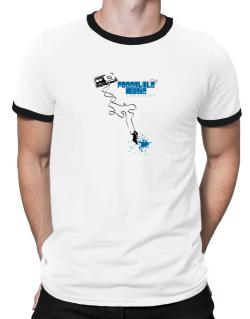 Freestyle Music It Makes Me Feel Alive ! Ringer T-Shirt