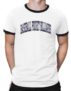 Baseball Pocket Billiards Athletic Dept Ringer T-Shirt