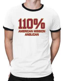 110% American Mission Anglican Ringer T-Shirt