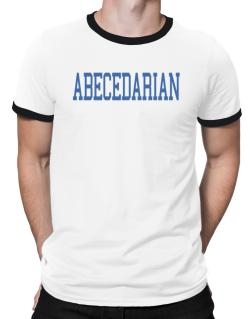 Abecedarian - Simple Athletic Ringer T-Shirt