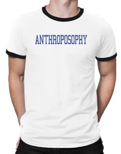 Anthroposophy - Simple Athletic Ringer T-Shirt