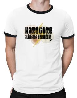 Hardcore Albanian Orthodoxy Ringer T-Shirt
