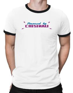Powered By Chisinau Ringer T-Shirt