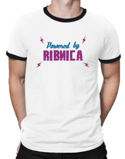 Powered By Ribnica Ringer T-Shirt