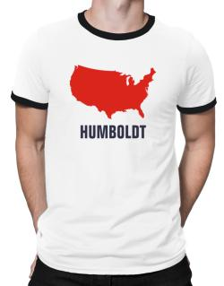 Humboldt - Usa Map Ringer T-Shirt