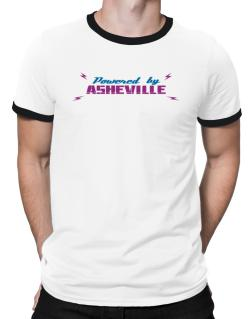 Powered By Asheville Ringer T-Shirt