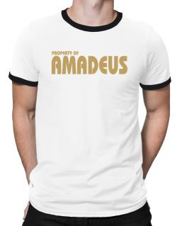 Property Of Amadeus Ringer T-Shirt