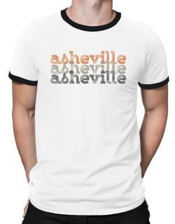 Asheville repeat retro Ringer T-Shirt