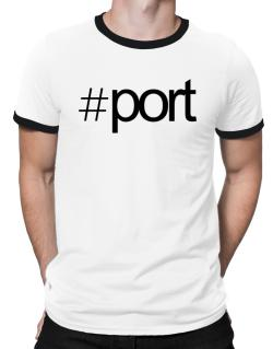 Hashtag Port Ringer T-Shirt