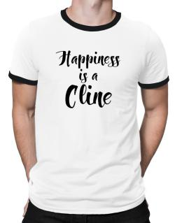 Happiness is a Cline Ringer T-Shirt