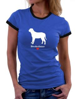 Broholmer love Women Ringer T-Shirt