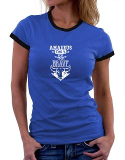 Amadeus Only for the Brave Women Ringer T-Shirt