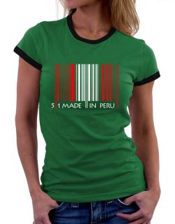 Made in Peru cool design  Women Ringer T-Shirt