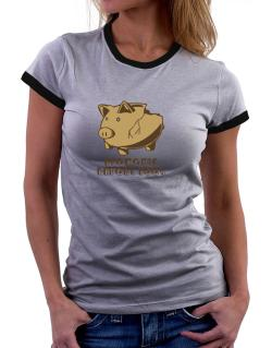 Economic Report 2009 Women Ringer T-Shirt