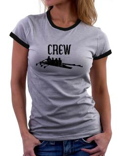 Crew rowing Women Ringer T-Shirt