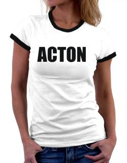 Acton Women Ringer T-Shirt