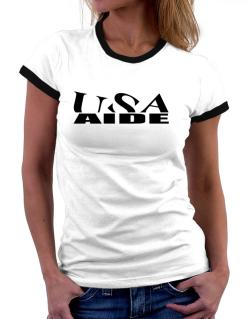 Usa Aide Women Ringer T-Shirt