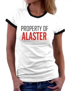 Property Of Alaster Women Ringer T-Shirt