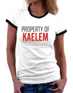 Property Of Kaelem Women Ringer T-Shirt