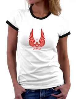 Quasim - Wings Women Ringer T-Shirt