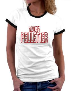 100% Pelletier Women Ringer T-Shirt