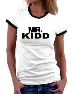 Mr. Kidd Women Ringer T-Shirt