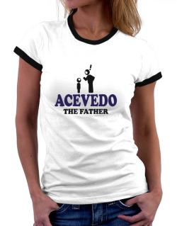 Acevedo The Father Women Ringer T-Shirt