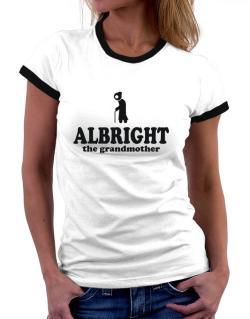 Albright The Grandmother Women Ringer T-Shirt