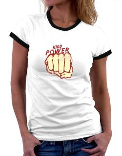 Kidd Power Women Ringer T-Shirt